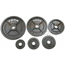 York Cast Iron Olympic Plates