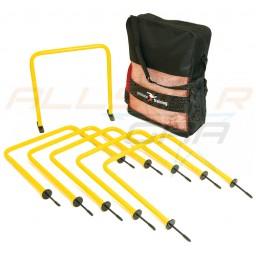 Set of 6 Indoor/Outdoor Passing Arcs with Bag