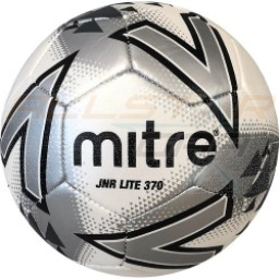 Mitre Jnr Lite 370g Size 5 10 Pack with Bag