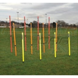Set of 12 Telescopic Boundary/Training Poles