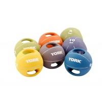 York Commercial Twin Handled Medicine Balls