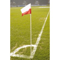 Set of 4 Corner Flag Posts