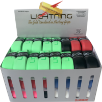Box of 48 Assorted Colours Lightning Hurling Grips