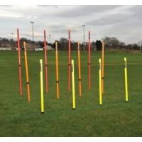 Set of 12 Telescopic Boundary/Training Poles